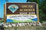Oscar Scherer Parks Earth Day sign
