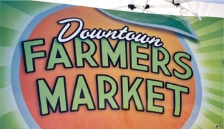 Farmers Market in downtown Sarasota Florida