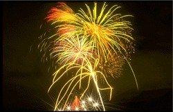 Sarasota Fourth of July fireworks over Sarasota Bayfront