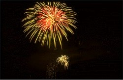 Fireworks of Siesta Key on the Fourth of July