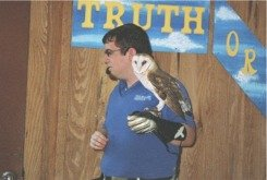 Animal show stage at Florida Aquarium