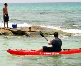 florida snorkeling on siesta keys point of rocks