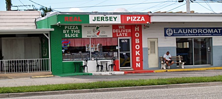 Real Jersey Pizza in Sarasota's Gulf Gate