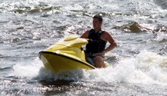 jet Skiing on the Gulf of Mexico in Sarasota Florida