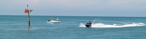 jet skiing on the gulf of mexico in sarasota