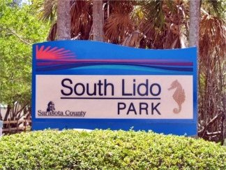 South Lido Key Park Sign