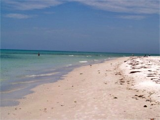 North Lido Key Beach off Sarasota