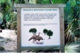 Entrance to Nature Trail at Myakka River State Park Florida