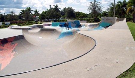 Payne Skate Park in Sarasota Florida