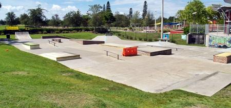 Payne Skate Park Sarasota in Payne Park