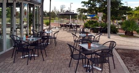 Sarasota's Payne Park's Cafe in the Park