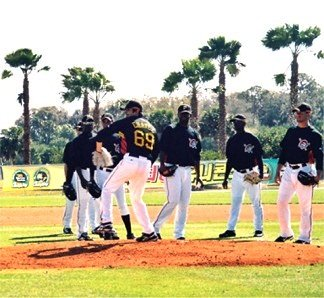 Pittsburgh Pirates Spring Training Pitching Mound at Pirates City