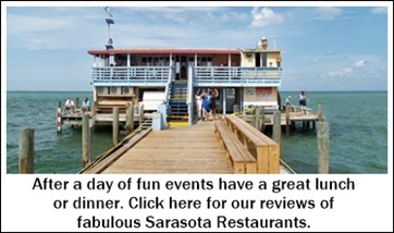 Sarasota area waterside dining spots