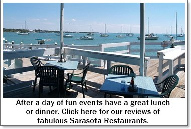 Sarasota dining on the waterfron