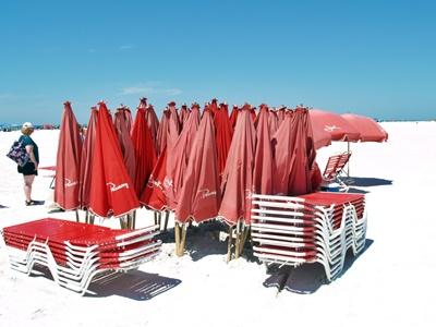 Siesta Beach Umbrella rentals