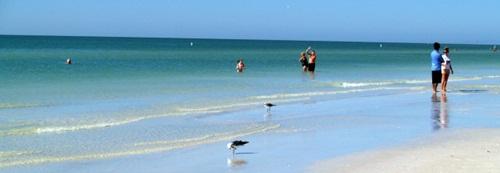 Siesta Key Beach at Low Tide
