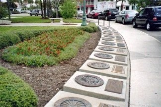 The RIng of Fame on St Armands Circle
