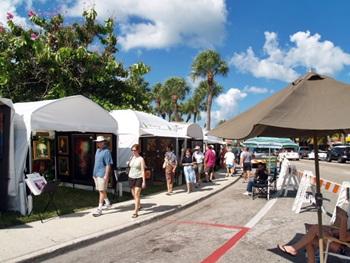 St Armands Art Festival Sarasota Florida