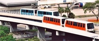 Trams at Tampa International Airport
