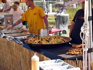 Delicious food at the Tampa Cigar Fest