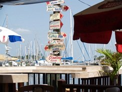 dining at frescos at the pier st pete florida