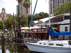 the marina at frescos at the pier st pete florida