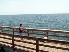 fishing off the pier st pete florida