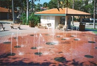 Water Park in downtown Venice Florida
