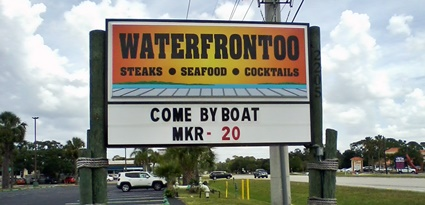 The Waterfront Too Grill and Steakhouse in Nokomis, FL