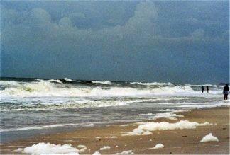 Hurricane Frances off Casey Key Florida